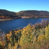 Navajo Lake Overlook - Autumn